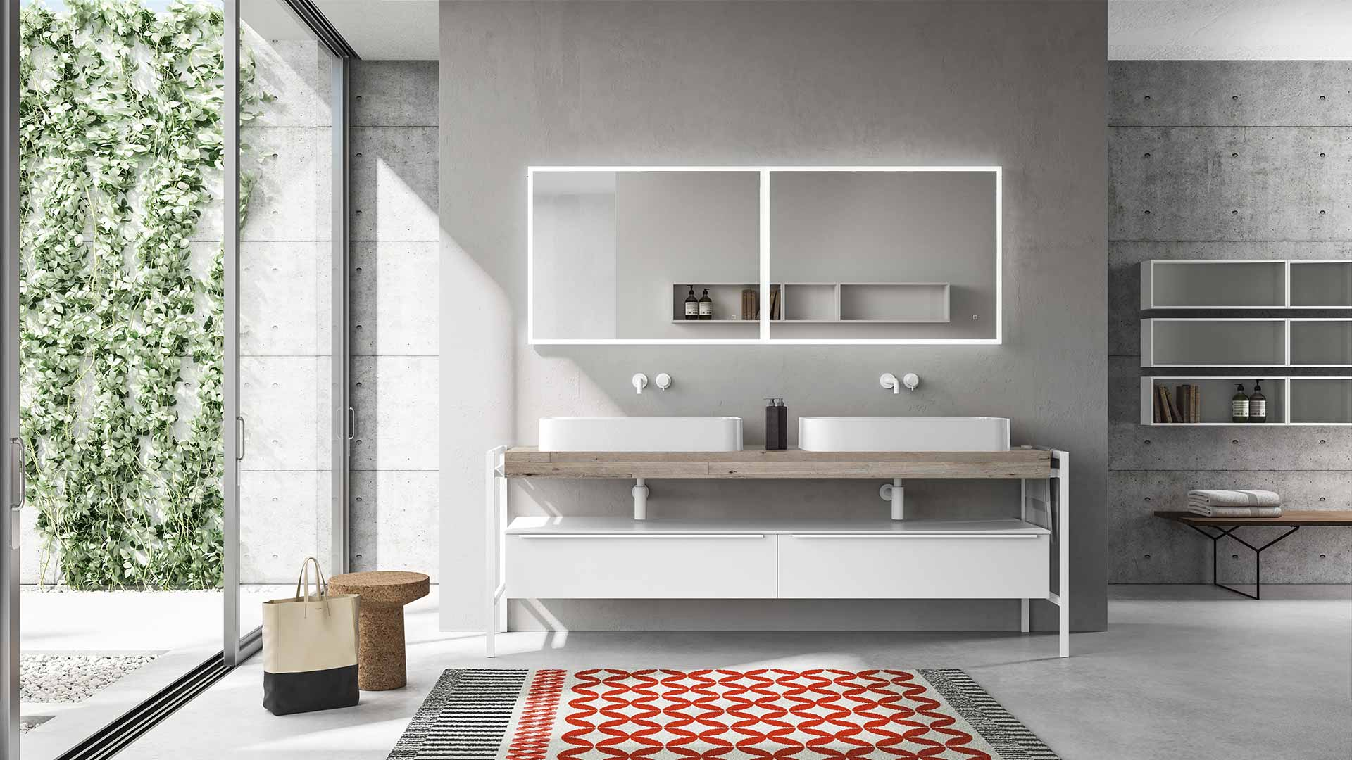 Berloni Bagno and SIGN <br>at Salone del Mobile 2018, Milan