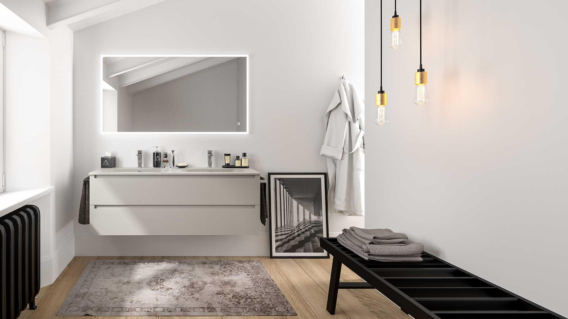 Arredo bagno moderno idee e soluzioni per tutte le - Idee per bagno moderno ...