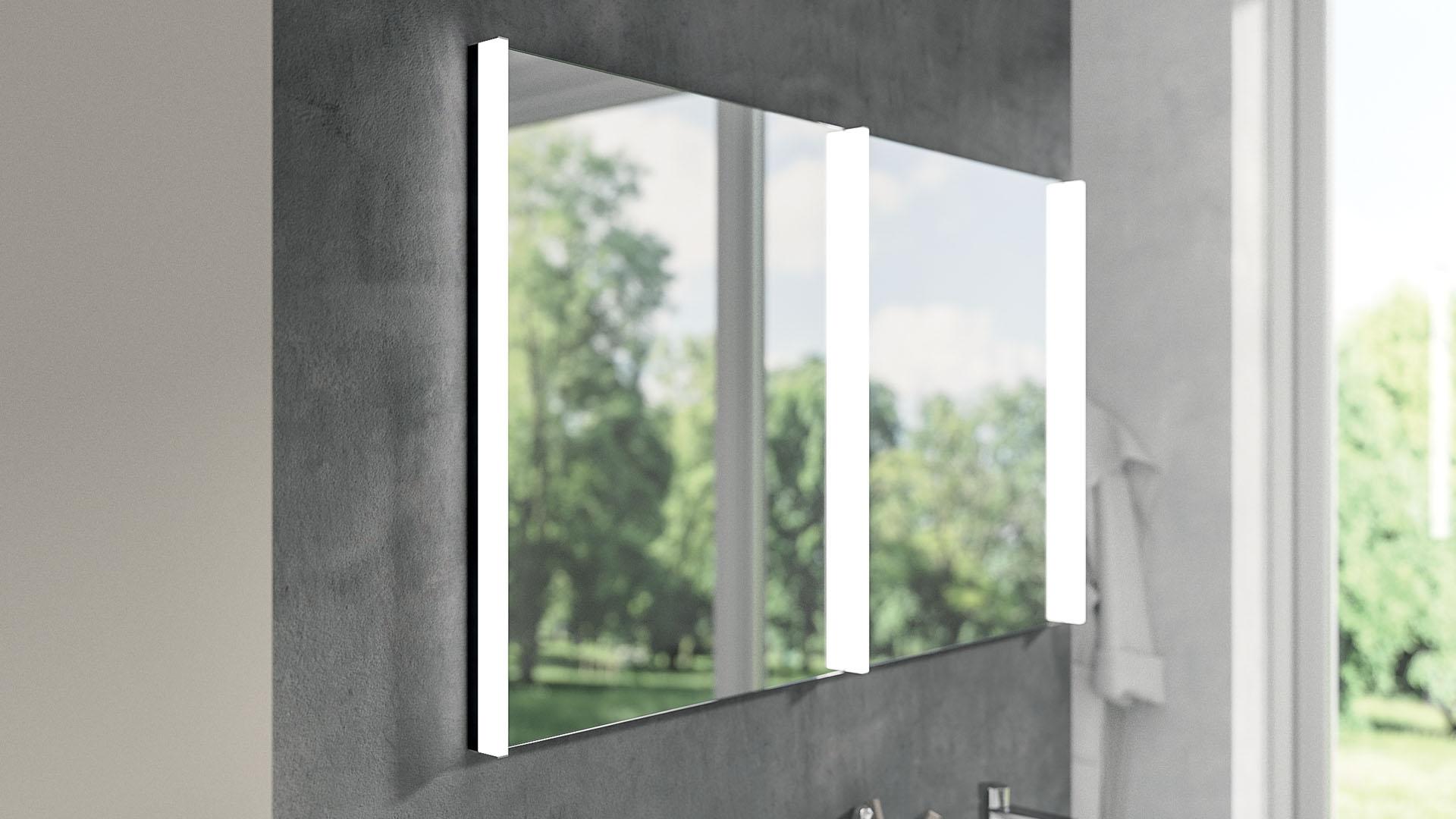 Come scegliere e posizionare lo specchio per il bagno: consigli pratici per ogni esigenza