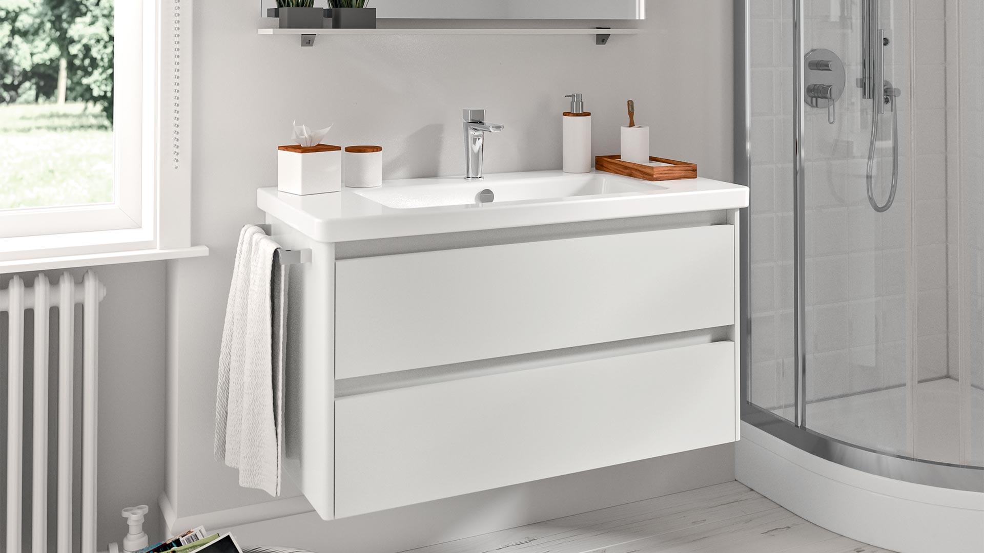 Le 7 idee più originali per arredare un bagno piccolo