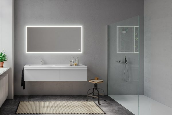 Berloni-Bagno-collezioni-piani-lavabo-bianco-specchiera-led